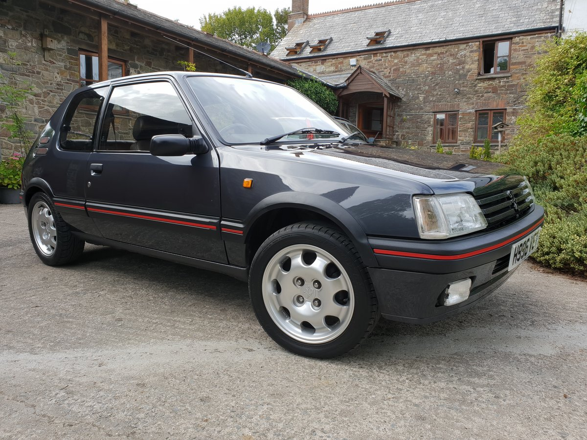 Peugeot 205 GTI 1.9 1990 Show Condition No sunroof For Sale (picture 1 of 6)