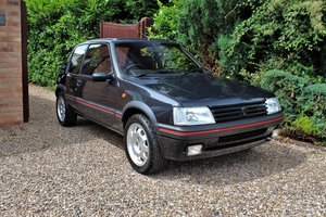 1991 Peugeot 205 GTI 3dr,65,534 miles from new For Sale