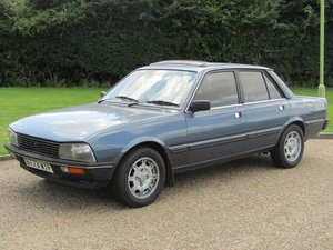 1984 Peugeot 505 2.2 GTi Auto at ACA 24th August  For Sale