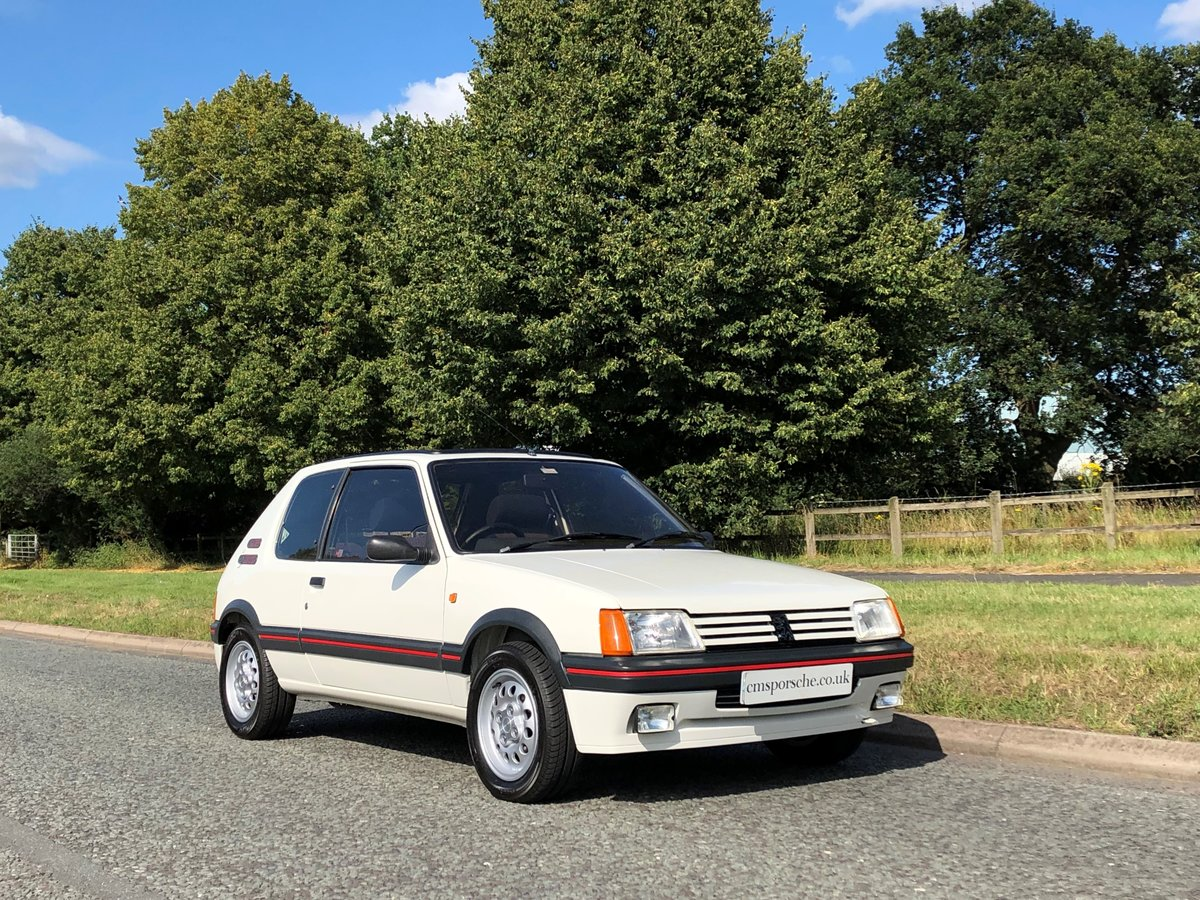 1986 Peugeot 205 GTi 1.6 39K Miles TIMEWARP CONDITION For Sale (picture 1 of 6)