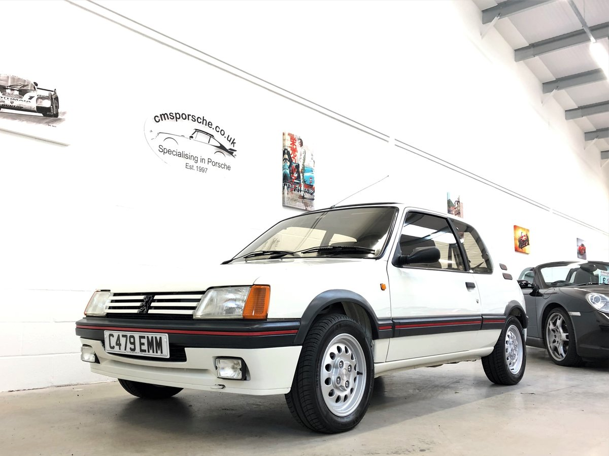 1986 Peugeot 205 GTi 1.6 39K Miles TIMEWARP CONDITION For Sale (picture 3 of 6)