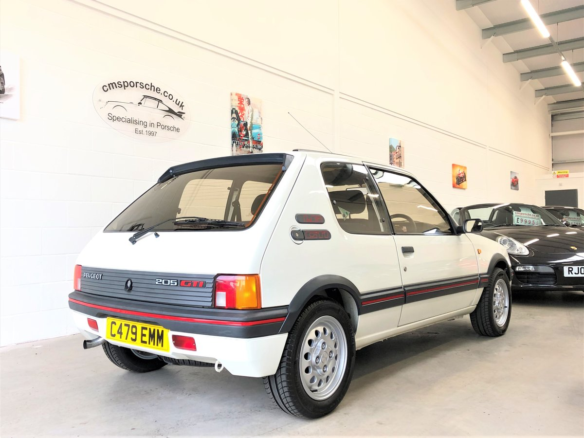 1986 Peugeot 205 GTi 1.6 39K Miles TIMEWARP CONDITION For Sale (picture 5 of 6)