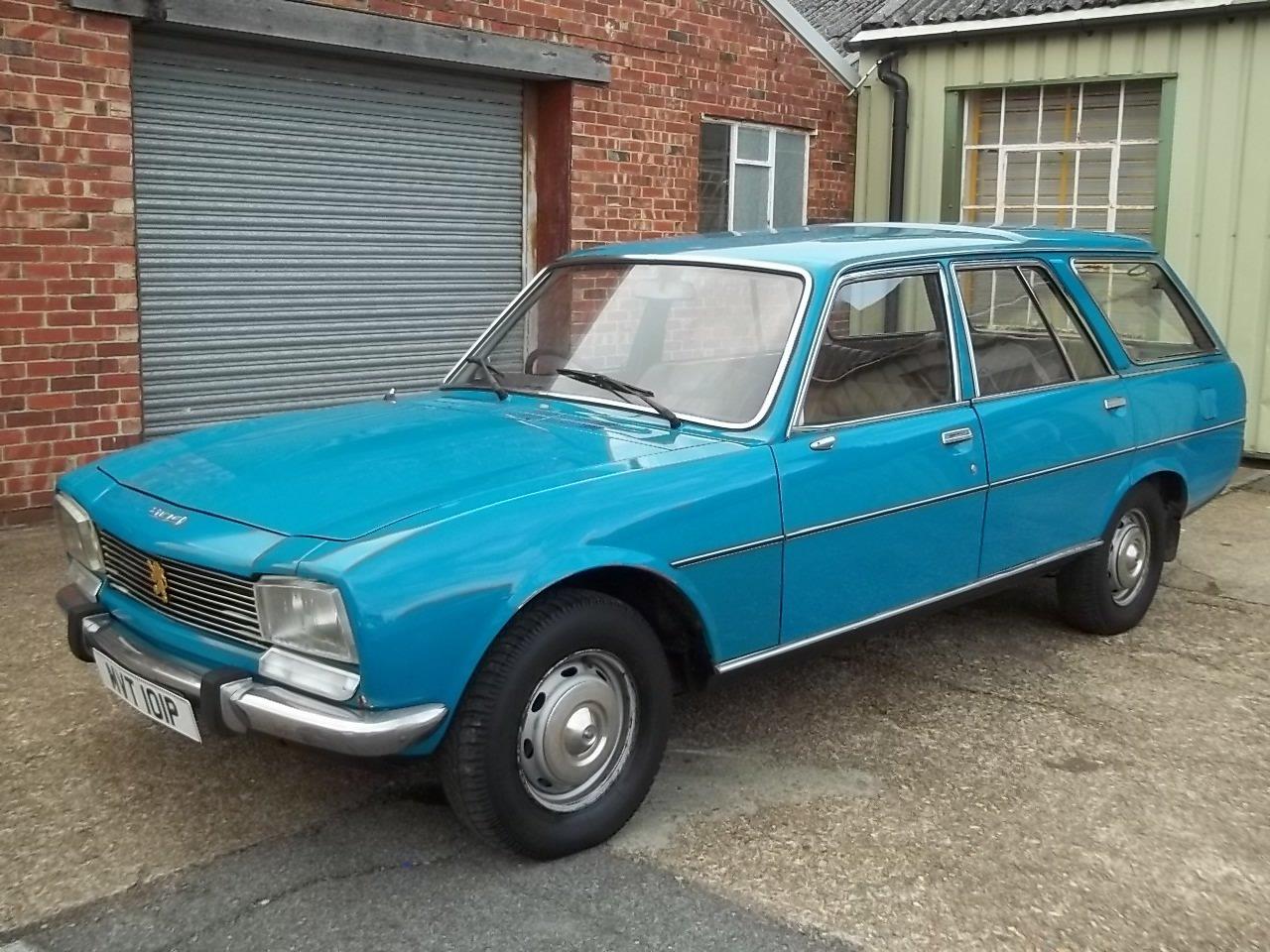 1976 Peugeot 504 2.0 Family Supplying Dealer + 1 owner SOLD (picture 1 of 6)