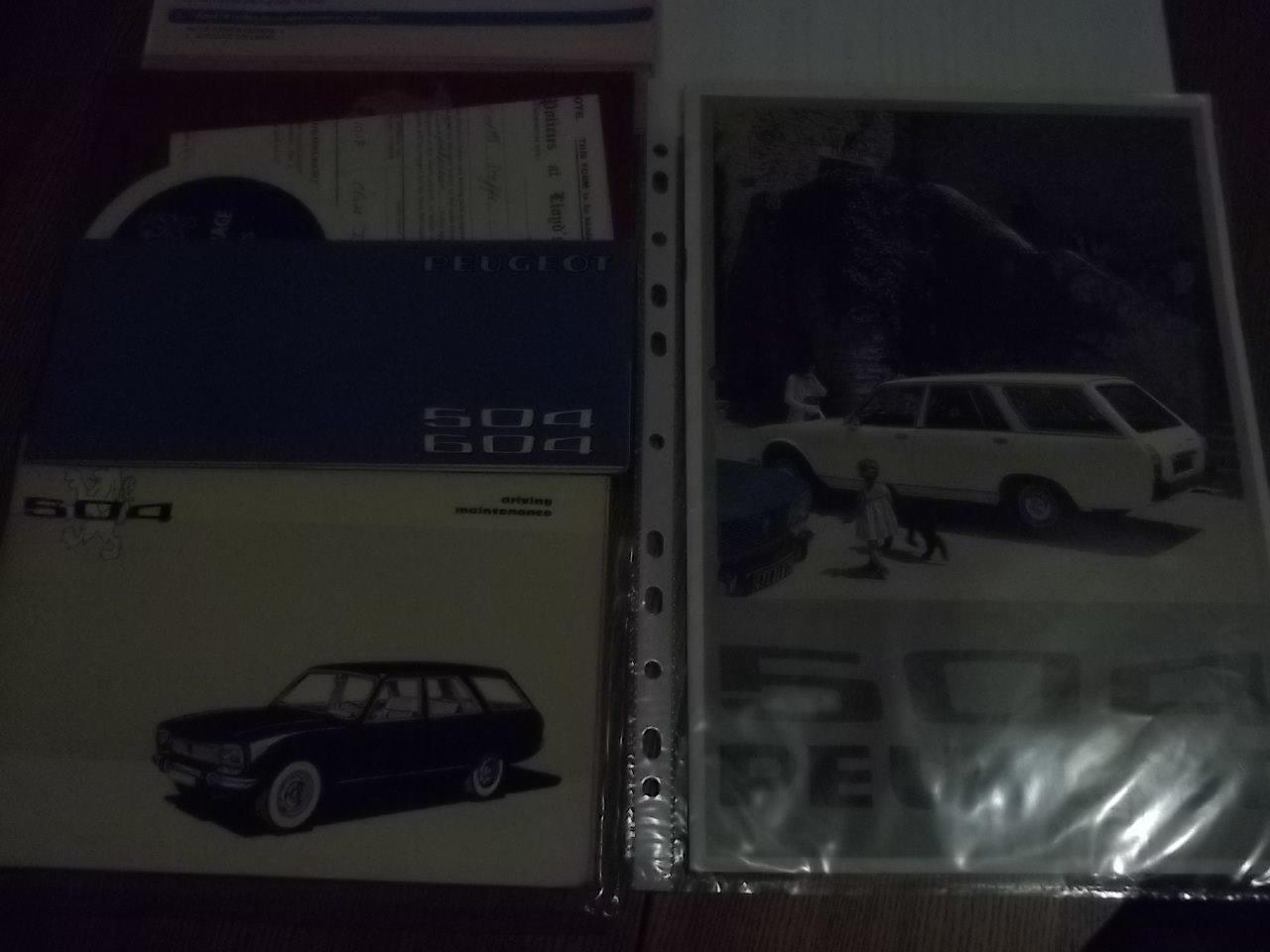 1976 Peugeot 504 2.0 Family Supplying Dealer + 1 owner SOLD (picture 6 of 6)