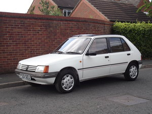 1989 Peugeot 205 Requires a little recommissioning. For Sale