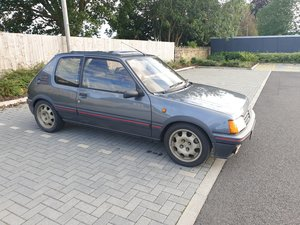 1992 Peugeot 205 Gti Steel Grey Ltd Edition-Gti6 engine For Sale