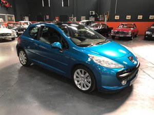 2008 PEUGEOT 207 1.6 GT HDI 3d 108 BHP WITH SUNROOF AND LEATHER!!