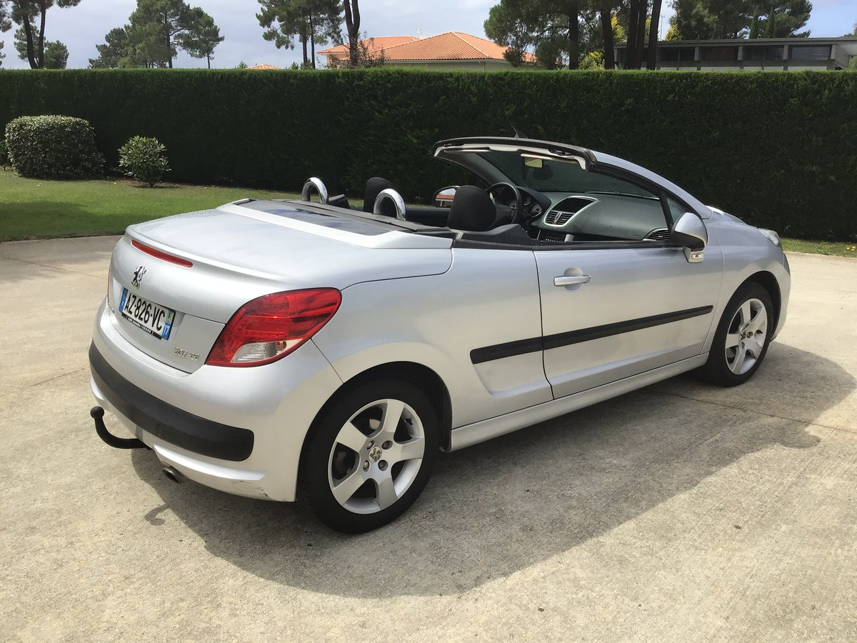 2010 Left Hand Drive Peugeot 207 cc For Sale | Car And Classic