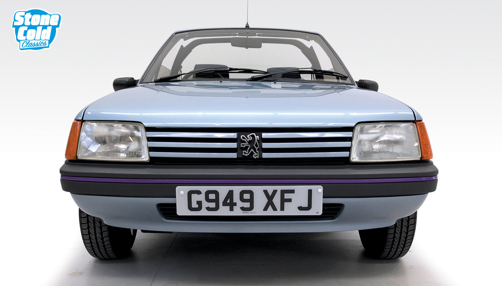 1990 Peugeot 205 CJ Convertible in outstanding condition SOLD (picture 7 of 10)