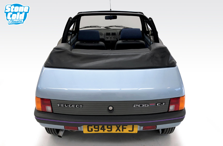 1990 Peugeot 205 CJ Convertible in outstanding condition SOLD (picture 9 of 10)