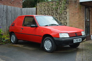 1992 Peugeot 205 XAD GL Van For Sale by Auction