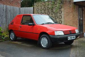 1992 Peugeot 205 XAD GL Van
