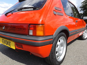 1988 Peugeot 205 Stunning example with thousands spent