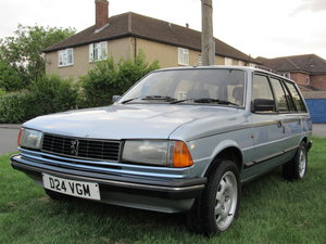 1986 Peugeot 305 GTX Estate - Excellent Condition For Sale