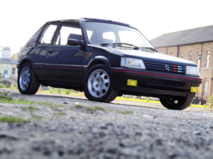 1992 Peugeot 205 GTi Black For Sale