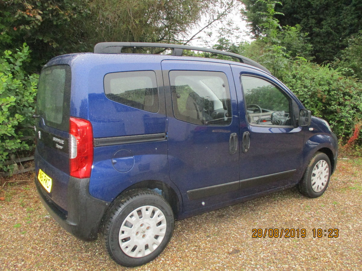 2011 MPV PEUGEOT BIPPER SUPER LITTEL MPV TWIN SLIDING SIDE DOORS For Sale (picture 1 of 6)