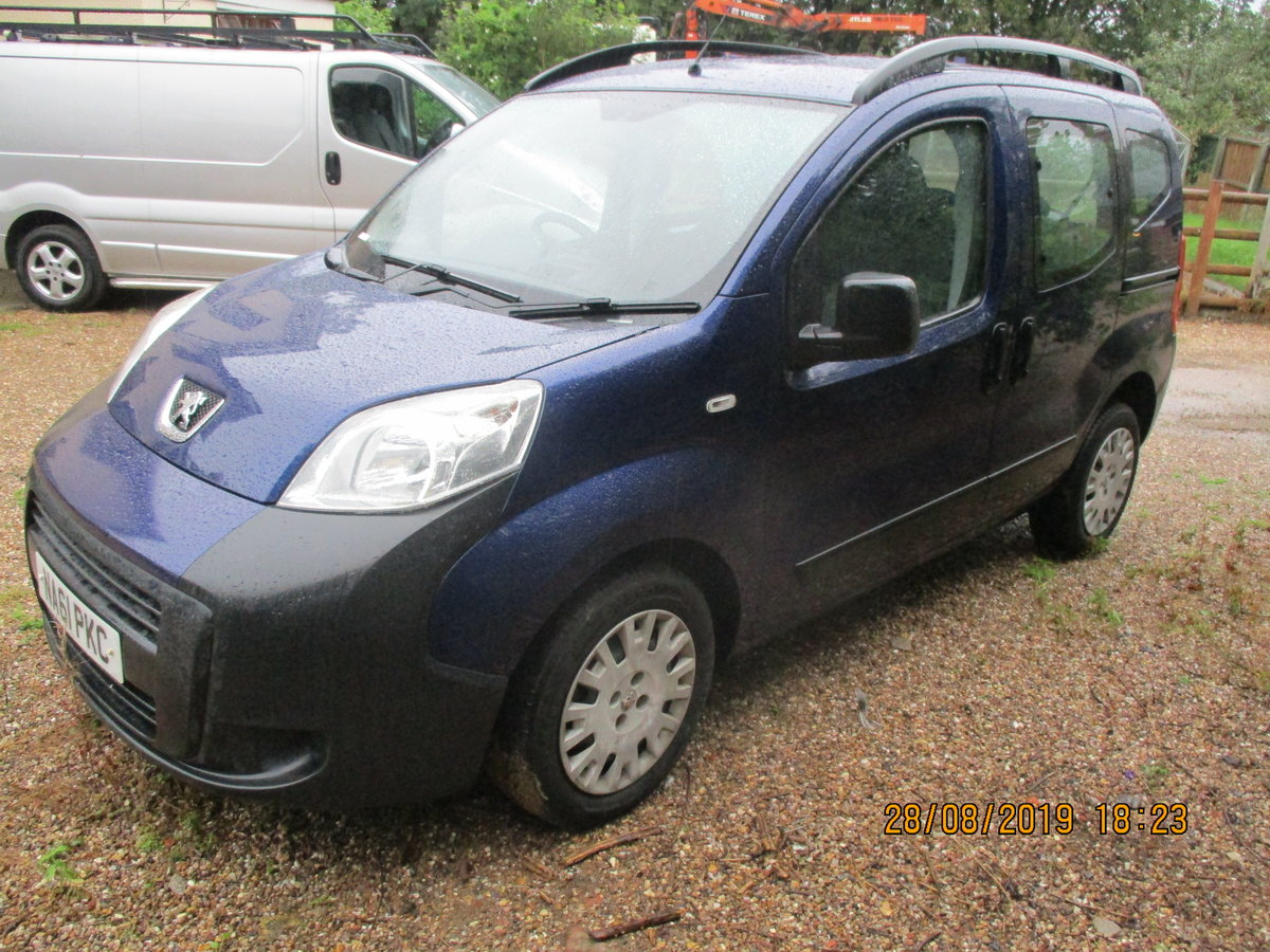2011 MPV PEUGEOT BIPPER SUPER LITTEL MPV TWIN SLIDING SIDE DOORS For Sale (picture 2 of 6)