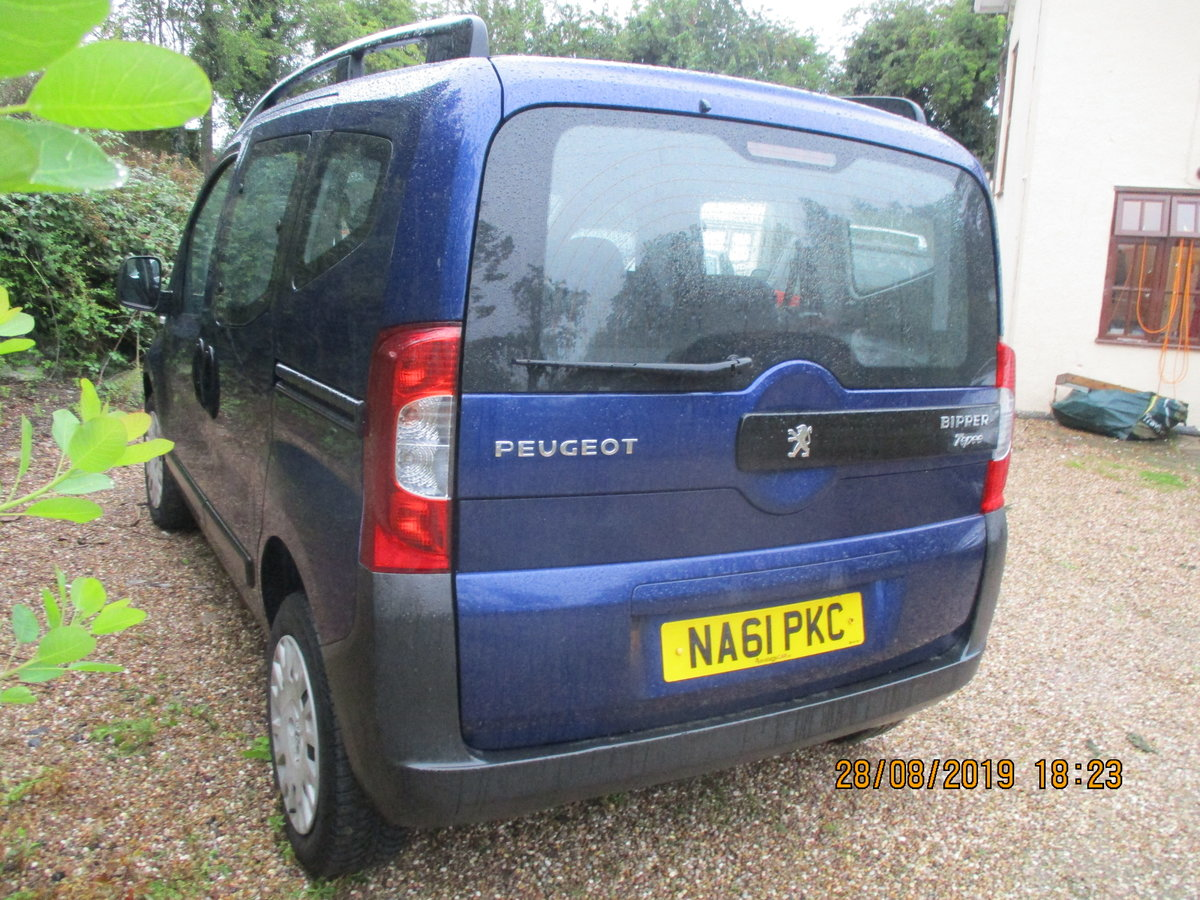 2011 MPV PEUGEOT BIPPER SUPER LITTEL MPV TWIN SLIDING SIDE DOORS For Sale (picture 3 of 6)