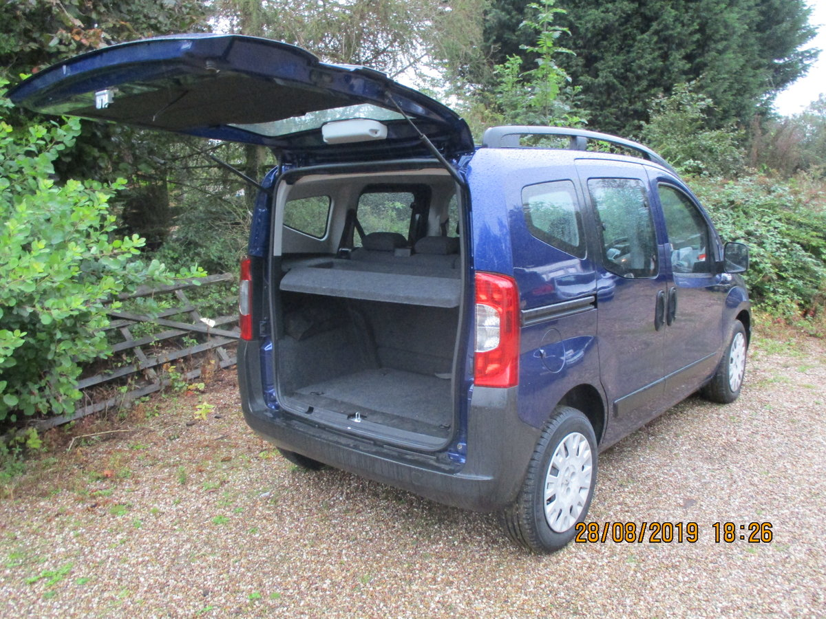 2011 MPV PEUGEOT BIPPER SUPER LITTEL MPV TWIN SLIDING SIDE DOORS For Sale (picture 4 of 6)