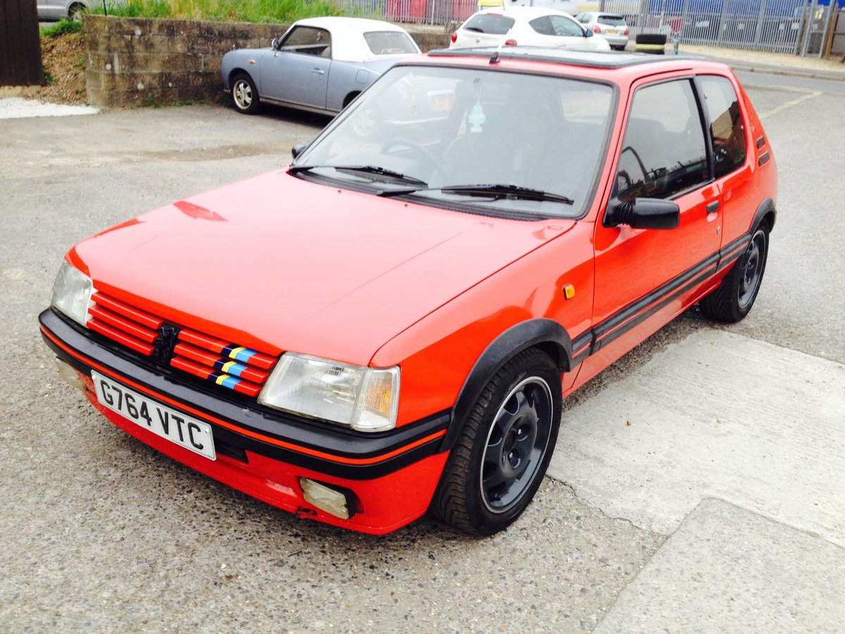 1990 Peugeot 205 GTI 2.016v GTI 6 conversion For Sale (picture 1 of 5)
