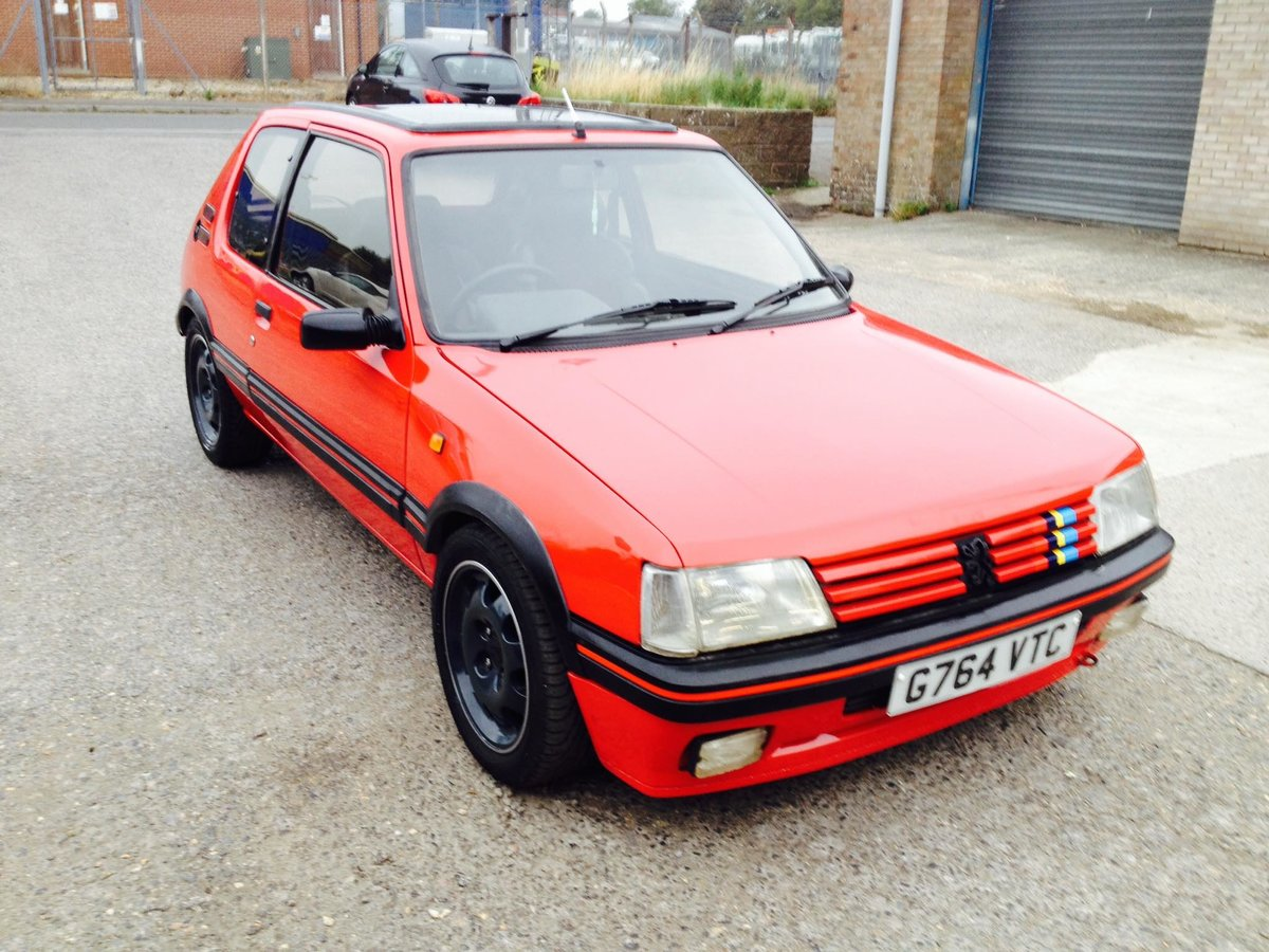 1990 Peugeot 205 GTI 2.016v GTI 6 conversion For Sale (picture 3 of 5)