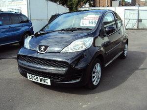 2009 Peugeot 107 Urban-1.0L Petrol– Cheaper to Insure For Sale