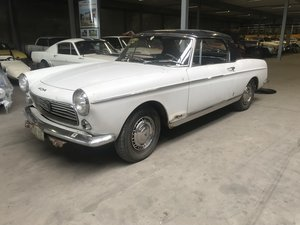 1963 Peugeot 404 Convertible with Hard-Top For Sale