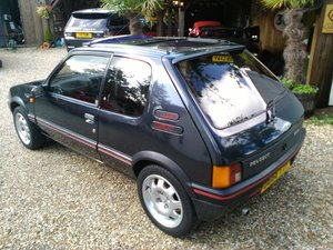 1989  205 GTi IMMACULATE LOW MILEAGE EXAMPLE For Sale