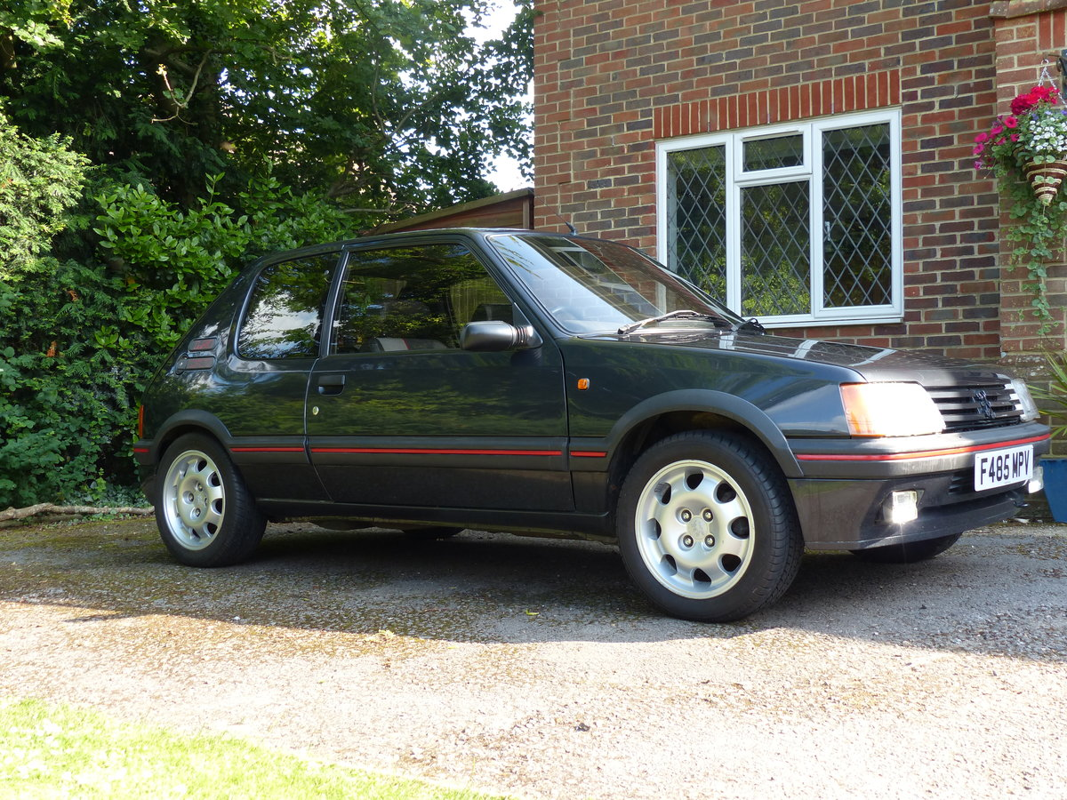 1988 Peugeot 205 1.9 GTI 130 BHP Phase 1.5 non Cat SOLD (picture 1 of 6)