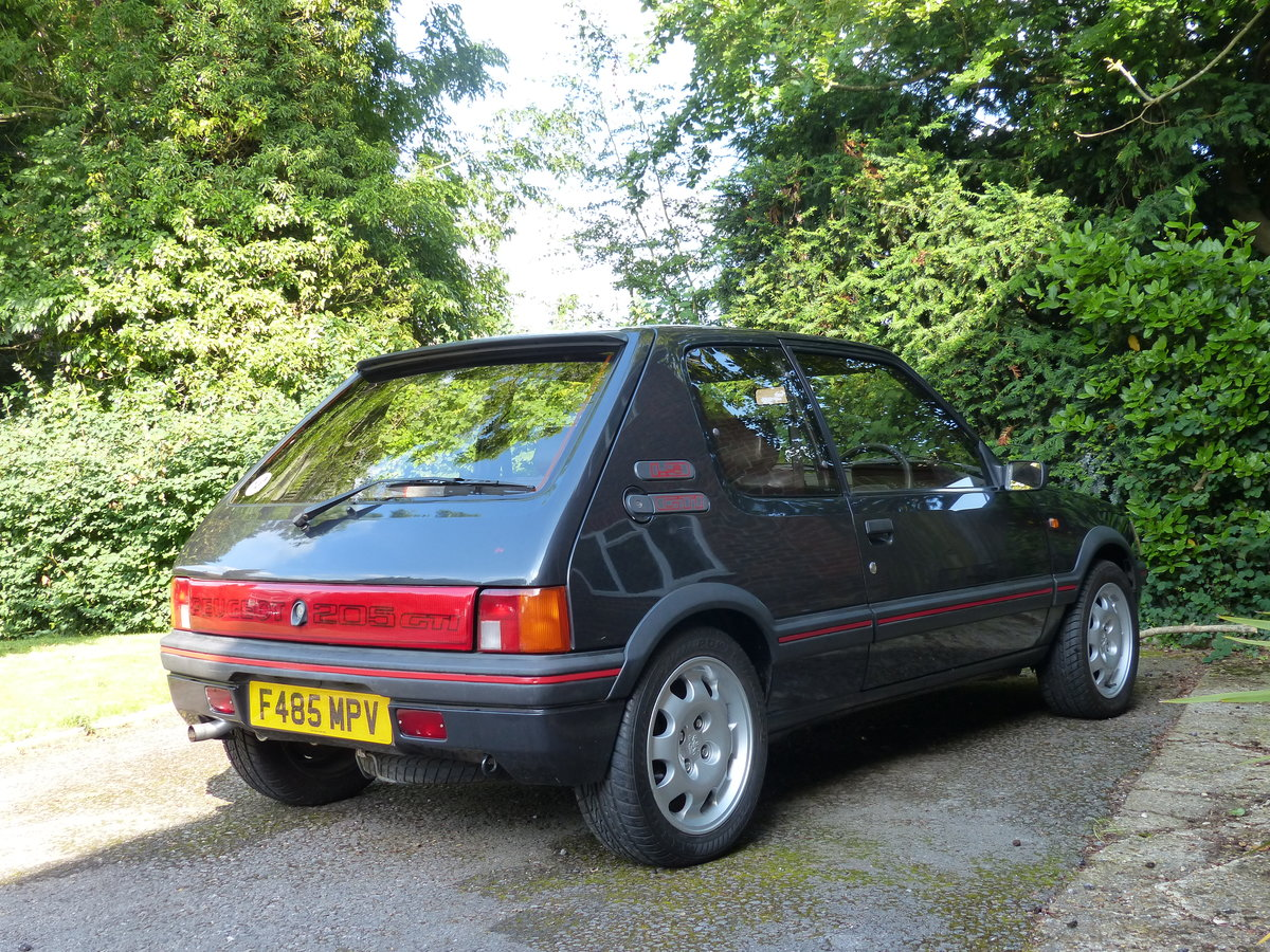 1988 Peugeot 205 1.9 GTI 130 BHP Phase 1.5 non Cat SOLD (picture 2 of 6)