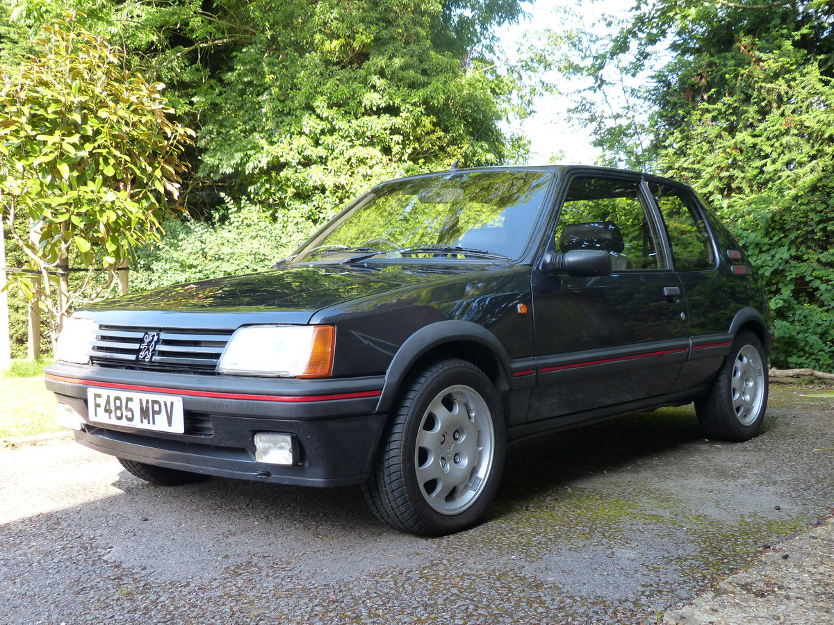 1988 Peugeot 205 1.9 GTI 130 BHP Phase 1.5 non Cat SOLD (picture 3 of 6)