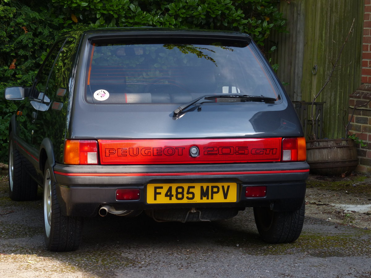 1988 Peugeot 205 1.9 GTI 130 BHP Phase 1.5 non Cat SOLD (picture 4 of 6)