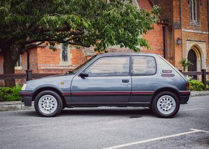 1991  Peugeot 205 GTi (1.6 litre) For Sale by Auction
