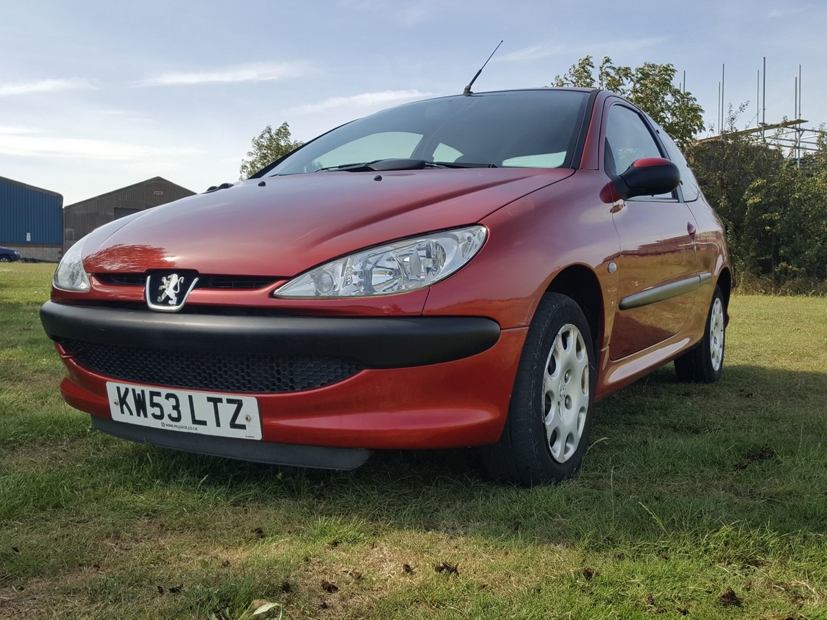 Peugeot 206 S 1.4 Effectively one lady owner from new 2004 For Sale (picture 6 of 6)