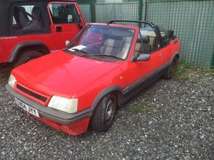 1987 Peugeot 205 CTi Rare phase 1 convertible GTI For Sale