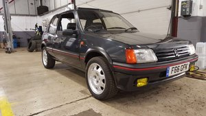 1989 peugeot 205,1.9 gti,80k miles,full history For Sale