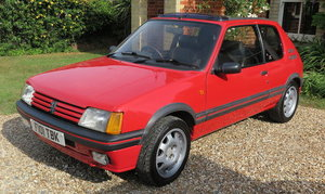 1989 PEUGEOT 205 GTI 1.9 For Sale by Auction