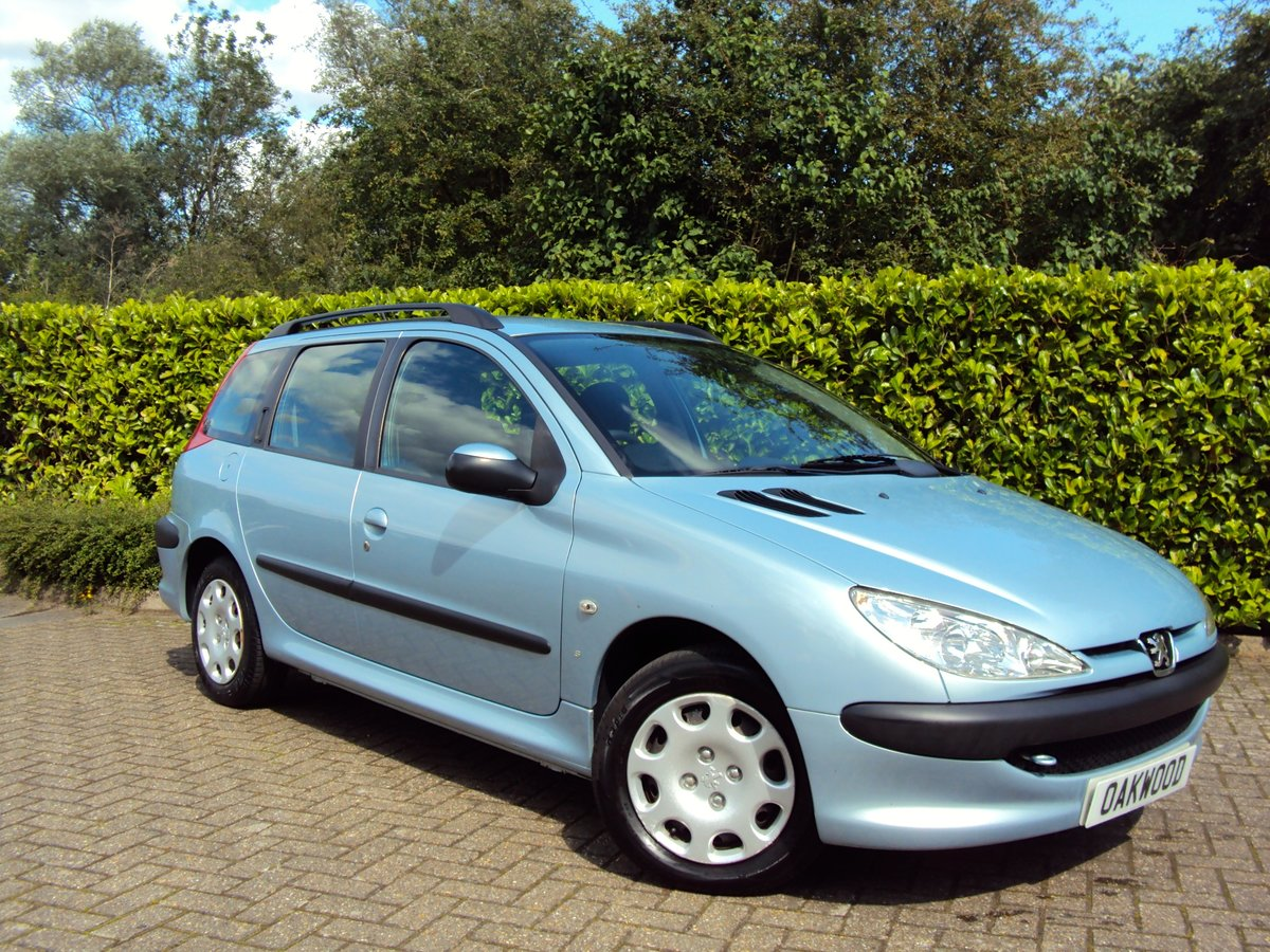 2005 A Lovely Low Mileage Peugeot 206 1.4i SW Estate For Sale (picture 1 of 6)