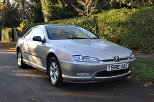 1999 Peugeot 406 Coupe, 1 Owner, 25000 miles