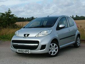 2010 Peugeot 107 Low mileage - excellent condition For Sale