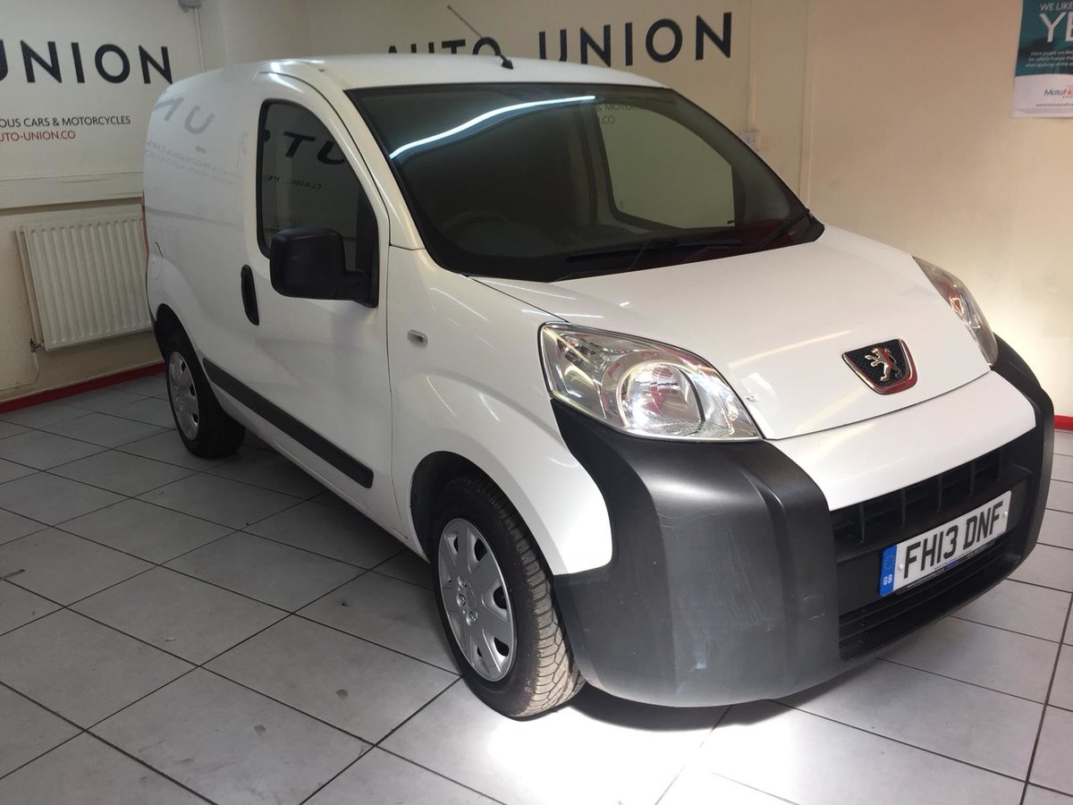 2013 PEUGEOT BIPPER S HDI For Sale (picture 1 of 6)