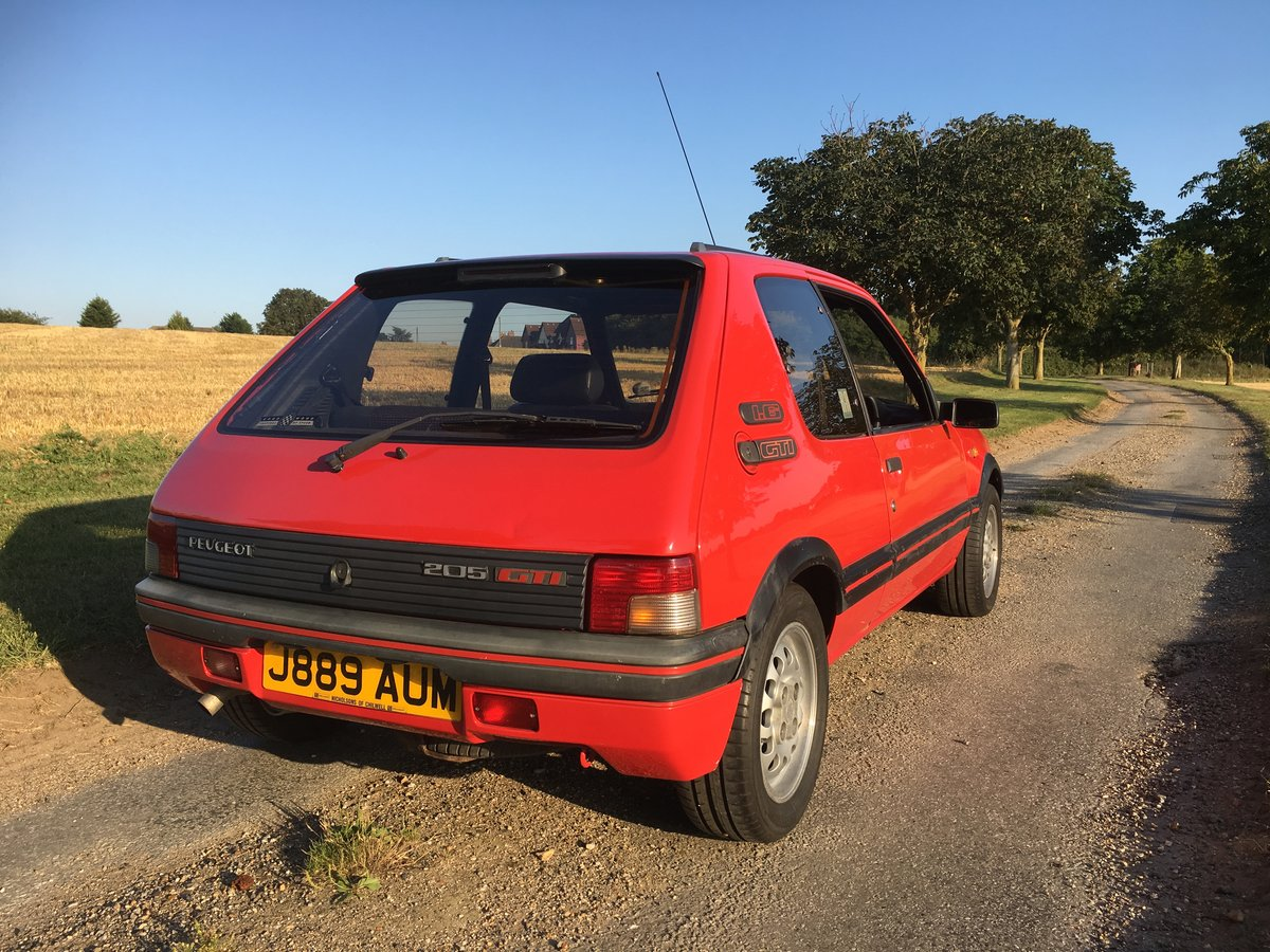 Peugeot 205 GTi 1.6 1991 For Sale (picture 3 of 6)