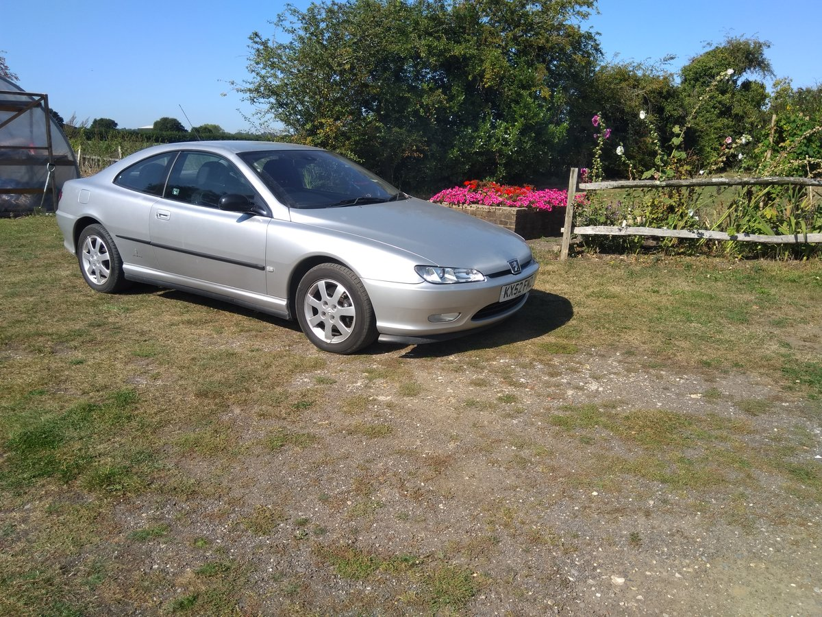 2002 Peugeot 406 Coupe For Sale (picture 1 of 1)