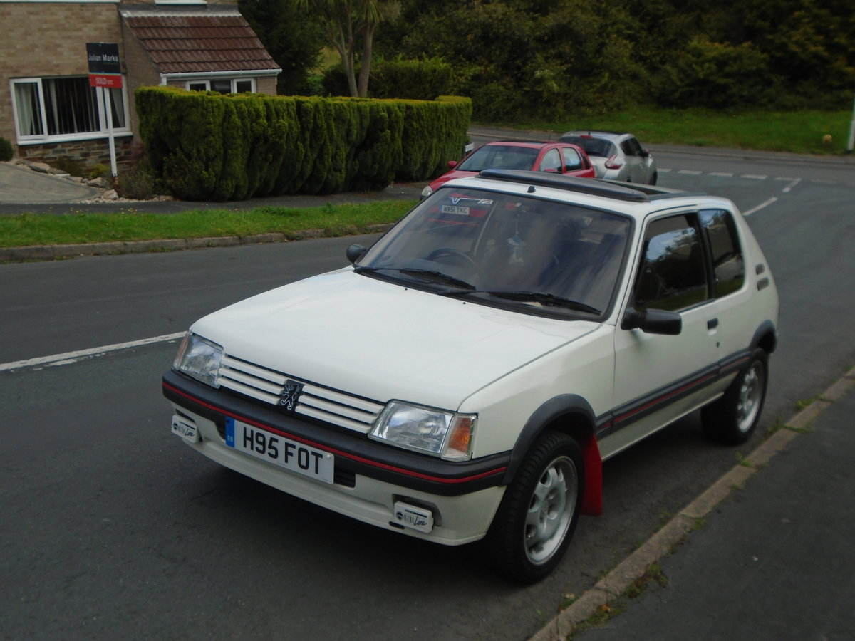 Peugeot 205 GTI Phase 2 1991 (H)  SOLD (picture 1 of 6)