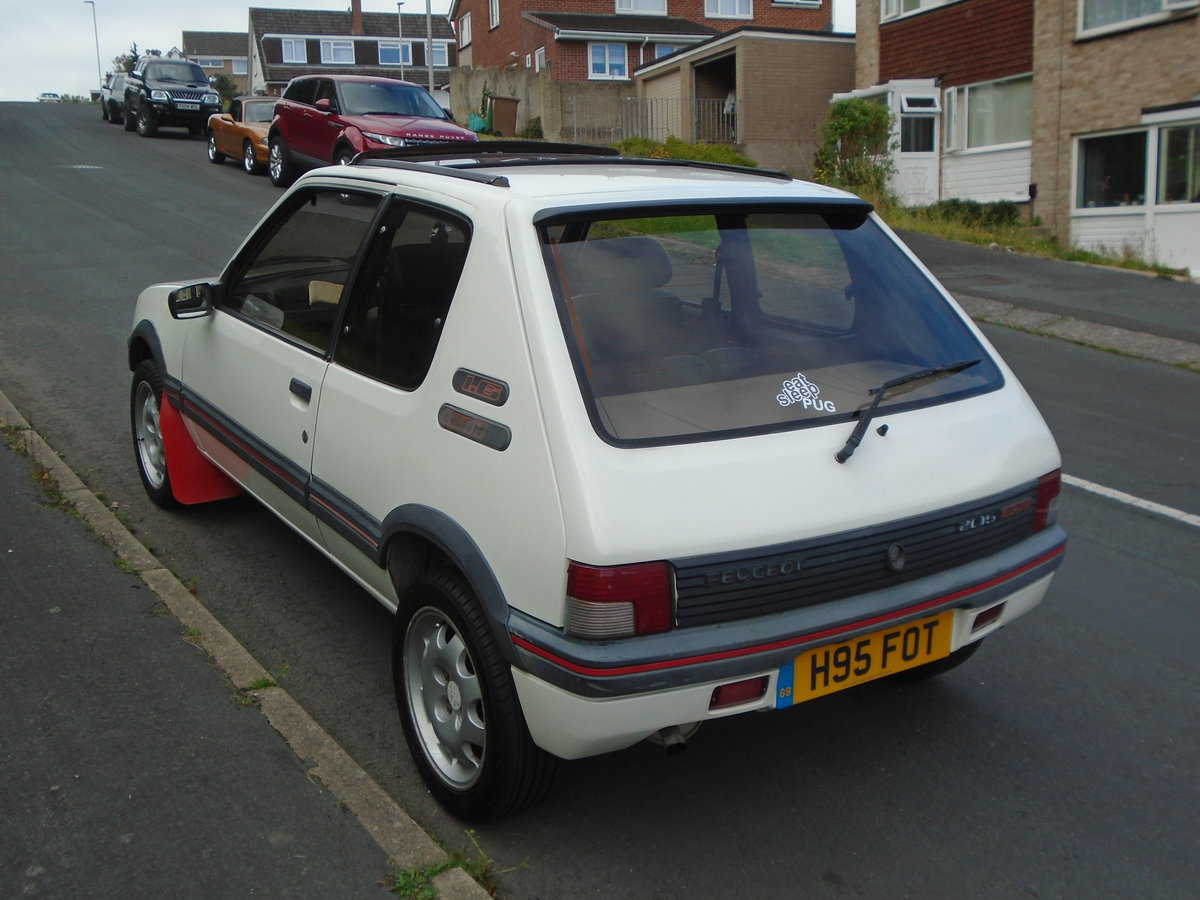 Peugeot 205 GTI Phase 2 1991 (H)  SOLD (picture 2 of 6)