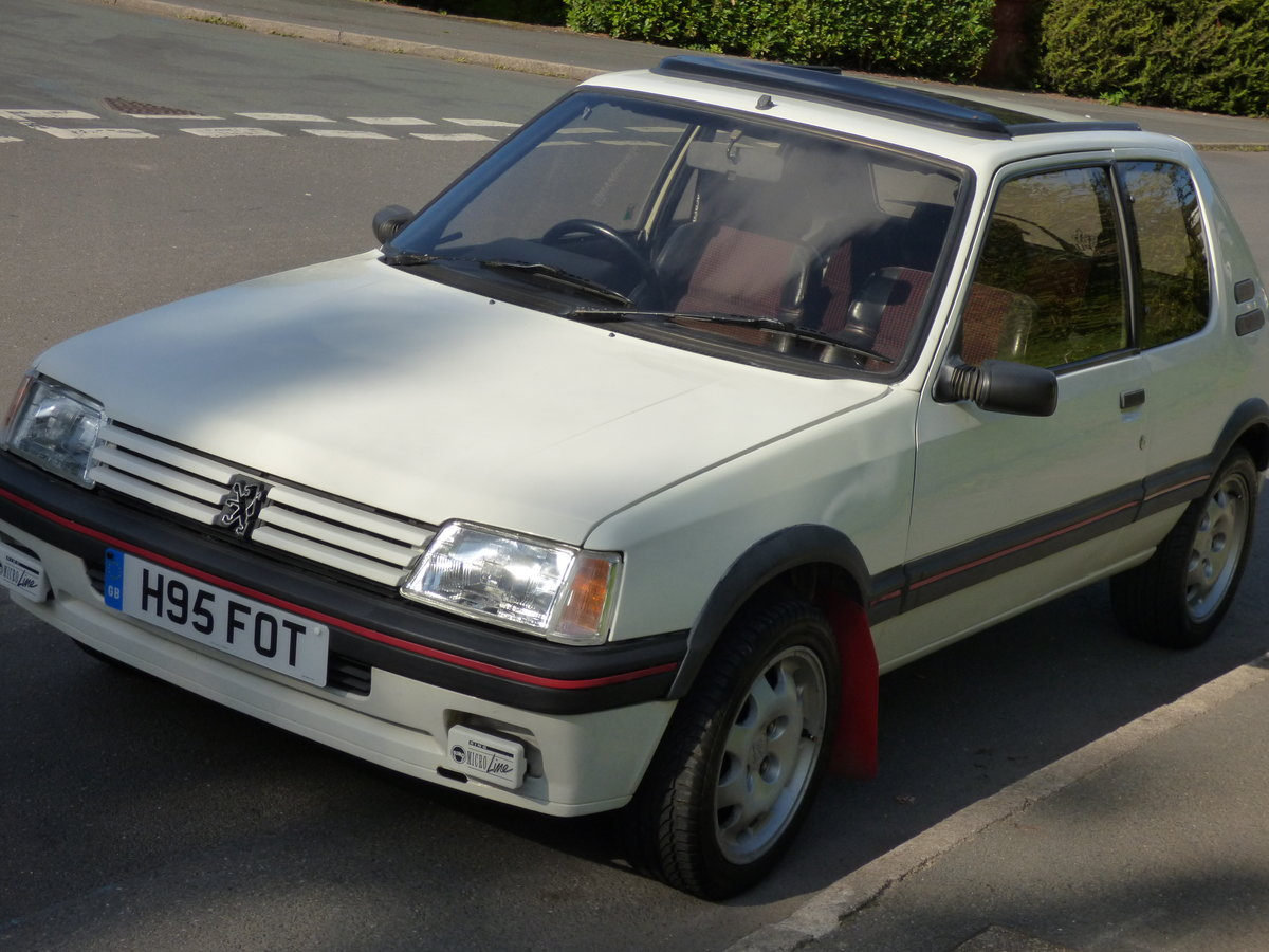 Peugeot 205 GTI Phase 2 1991 (H)  SOLD (picture 6 of 6)