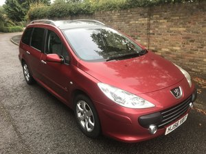 2006 PEUGEOT 307 SW ESTATE RARE AUTOMATIC PETROL ESTATE  For Sale