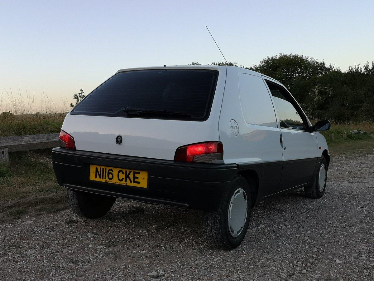 1996 PEUGEOT 106 XRAD , fantastic , original mark1 van For Sale (picture 2 of 6)