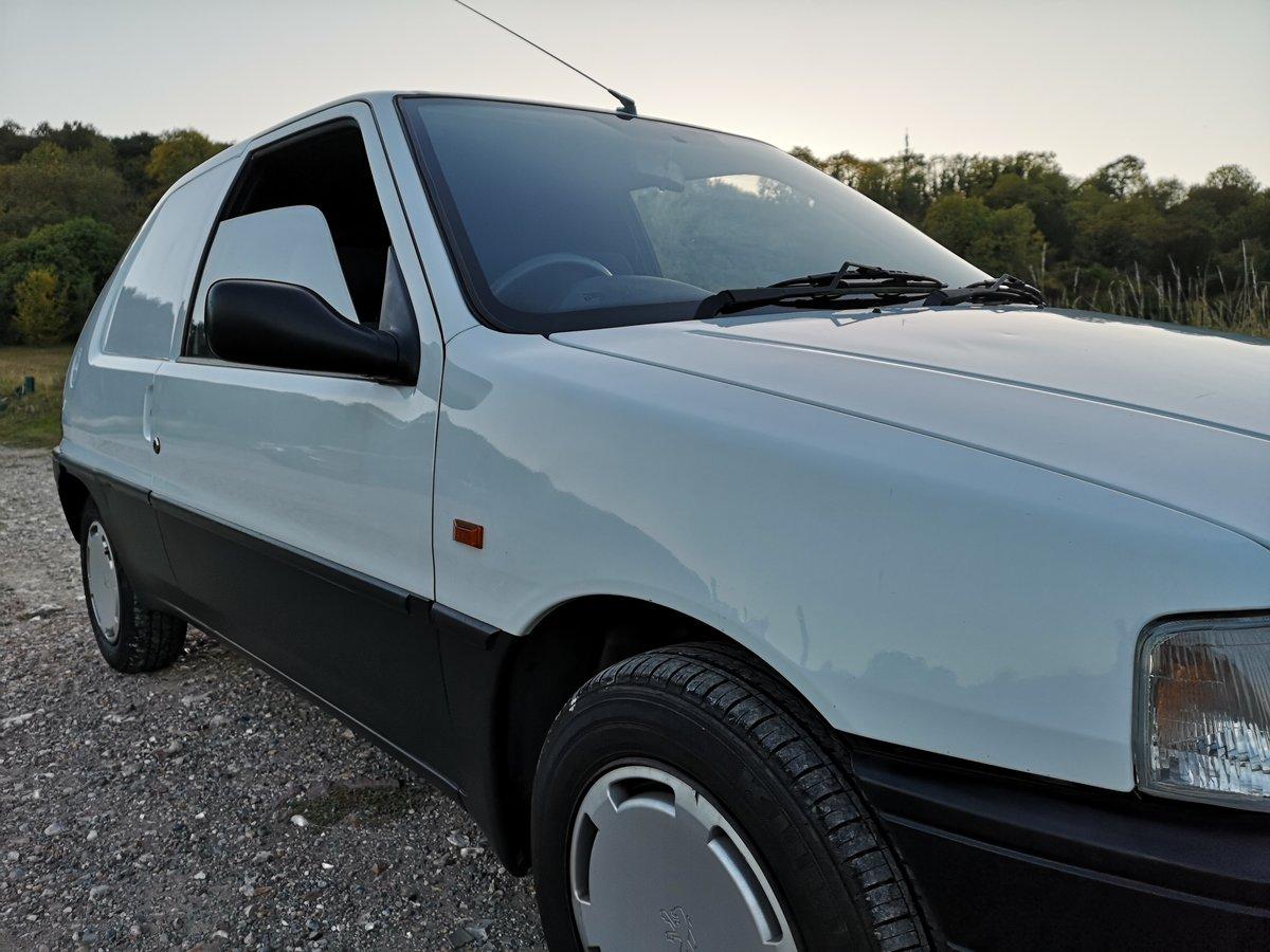 1996 PEUGEOT 106 XRAD , fantastic , original mark1 van For Sale (picture 4 of 6)