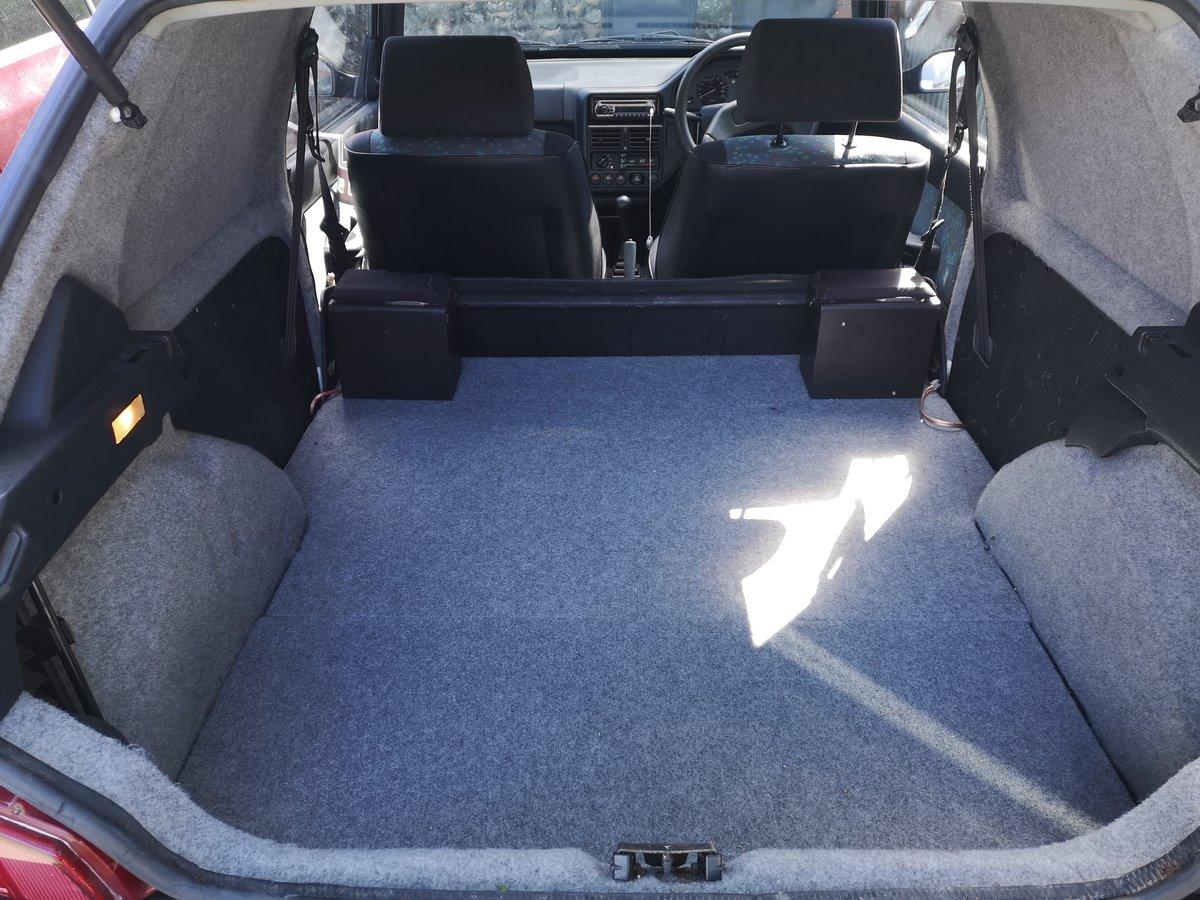 1996 PEUGEOT 106 XRAD , fantastic , original mark1 van For Sale (picture 6 of 6)